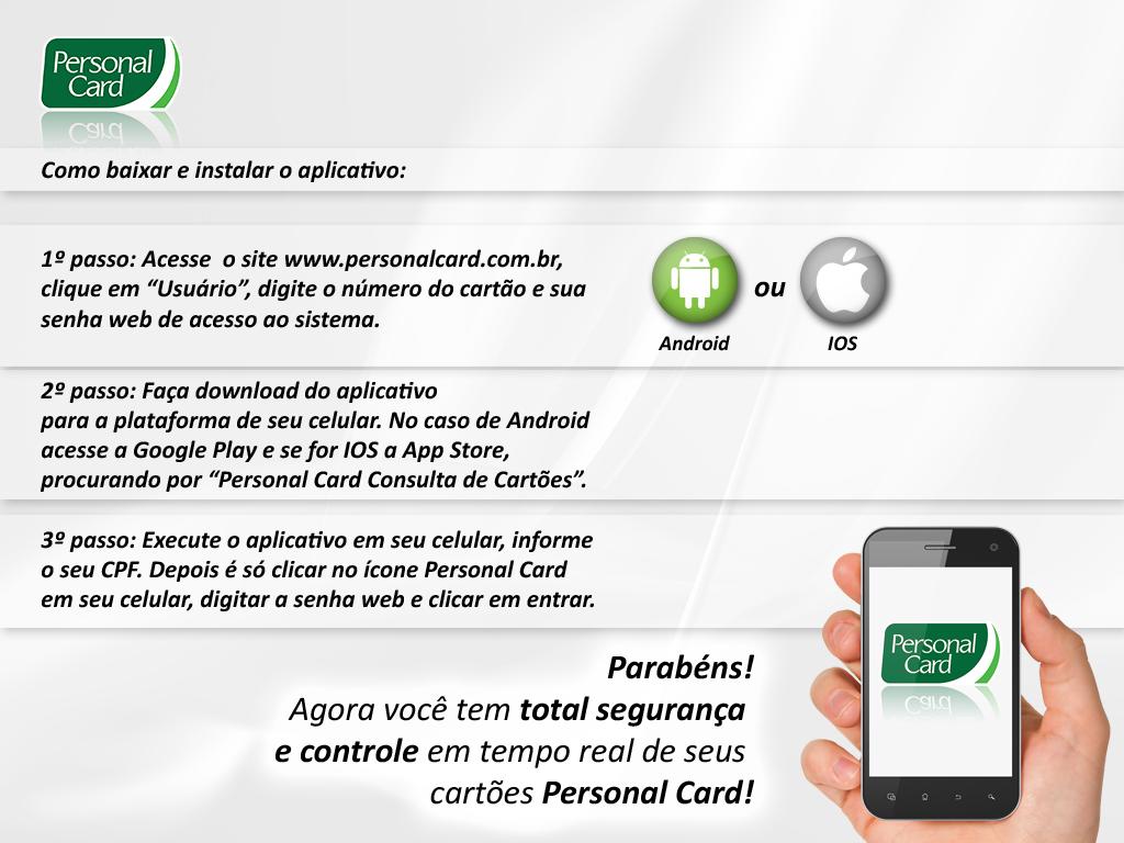 Passo a Passo App (PERSONAL)