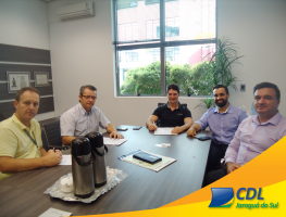 Fechamos parceria com a CDL de Jaraguá do Sul