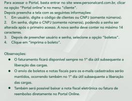 Portal do Cliente facilita emissão de boletos