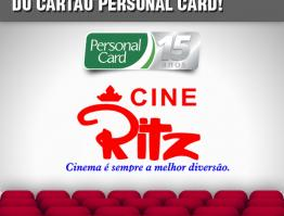 O Cine Ritz ( Goiânia-GO) oferece desconto…